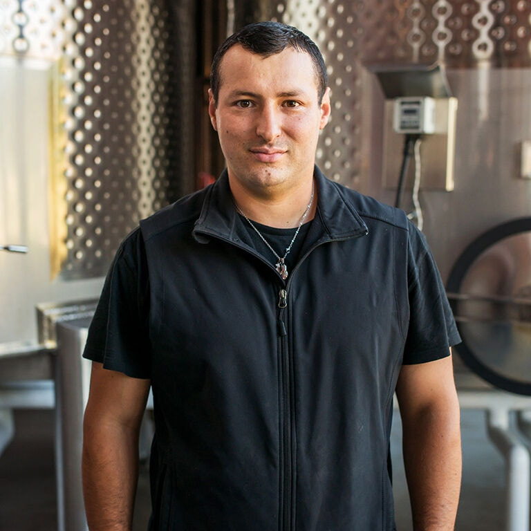 Ronnie Escobedo, Cellar image portrait
