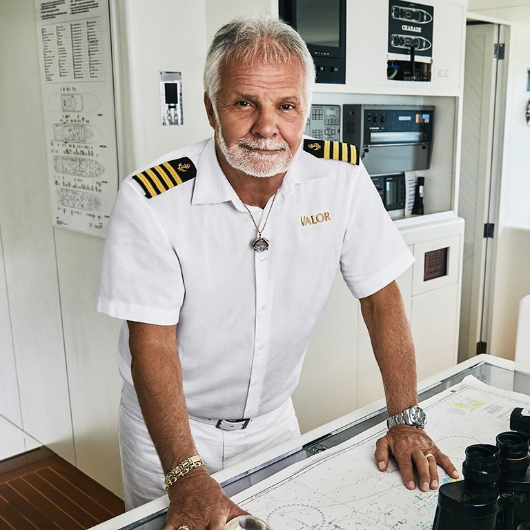 Bravo TV Below Deck Captain, Lee Rosbach photo image