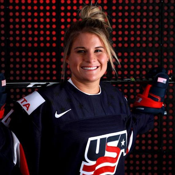 Team USA's Women's Ice Hockey Olympic gold Medalist, Brianna Decker photo image