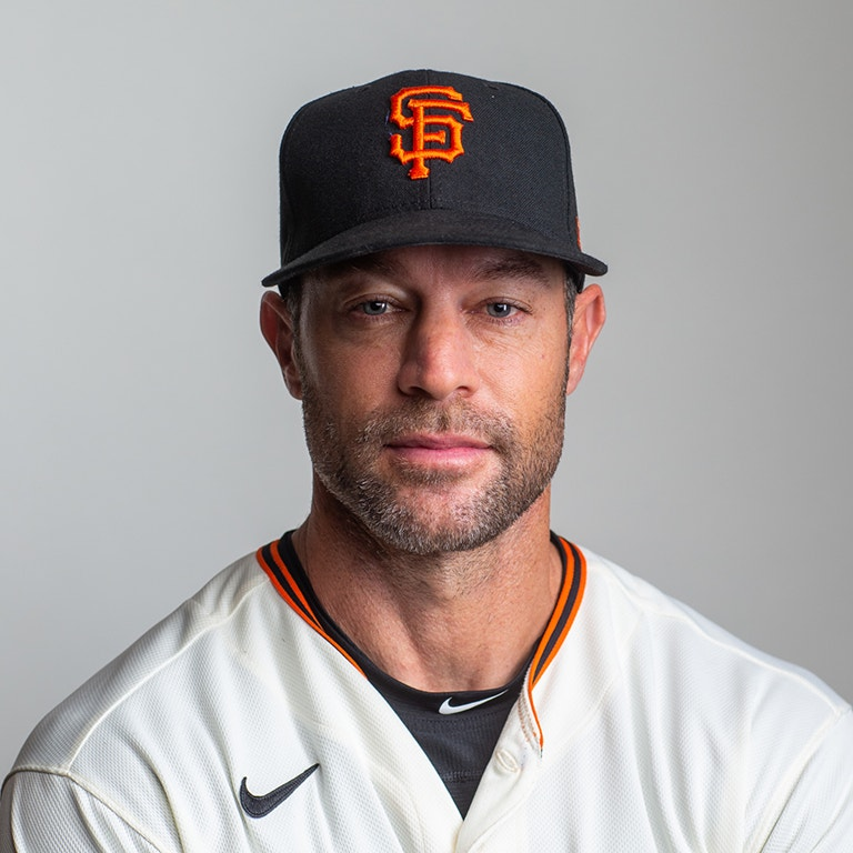 SF Giants Manager, Gabe Kapler photo headshot image