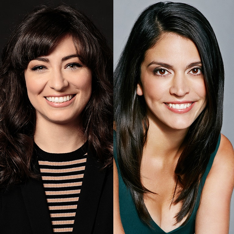 Saturday Night Live's Actresses, Melissa Villaseñor & Cecily Strong image of both women