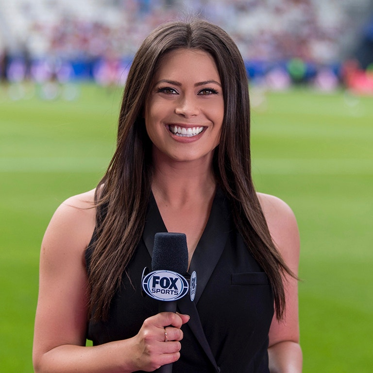 TV Reporter for FOX Sports, Alex Curry