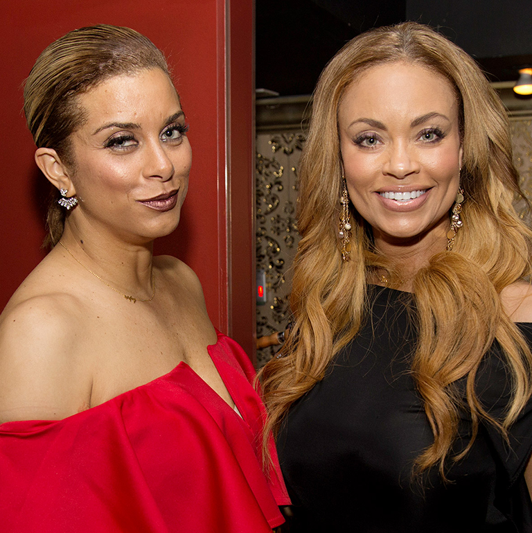 BravoTV's Real Housewives of Potomac, Gizelle Bryant & Robyn Dixon photo image